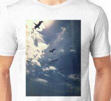 Look Up– Blue Unisex T-Shirt