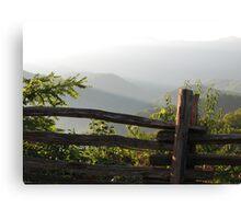 Smokey Mountain Morning Canvas Print