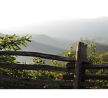 Smokey Mountain Morning Photographic Print