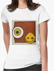 Brown bird Womens Fitted T-Shirt