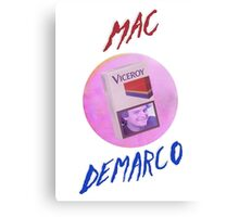 Mac Demarco - The Viceroy smile [Text] Canvas Print