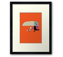 Hello Toucan Framed Print