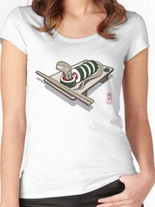 Xenomaki Women's Fitted Scoop T-Shirt