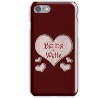 Bering and Wells Happy Valentines Day iPhone Case/Skin