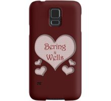 Bering and Wells Happy Valentines Day Samsung Galaxy Case/Skin