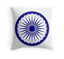 Ashoka Chakra Throw Pillow