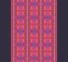 purple and blue square spirals Unisex T-Shirt