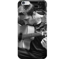 A Man and His Instrument Part 2 iPhone Case/Skin