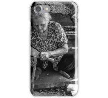 Chopping Wood iPhone Case/Skin