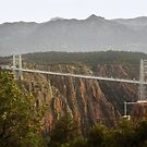 Royal Gorge Bridge, CO After A Thunderstorm by Christine Till  @    CT-Graphics