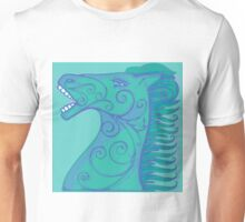 Blue horse Unisex T-Shirt