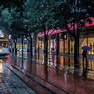 Powell Street, Rain by James Watkins