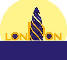 London 1 by Rif Khasanov