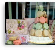 Confectionery Tree Canvas Print