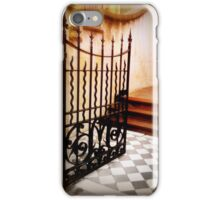 Wrought Iron Gate to Stairs iPhone Case/Skin