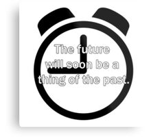 Thing Of The Past Metal Print