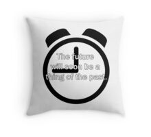 Thing Of The Past Throw Pillow