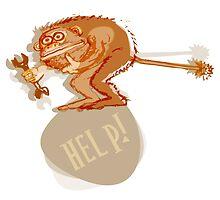 Help monkey by Rif Khasanov
