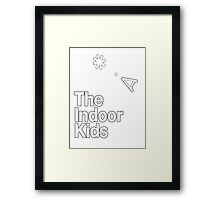 The Indoor Kids Podcast Framed Print