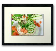 Rice & More Framed Print