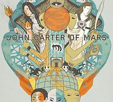 John Carter Of Mars by andrewsteger