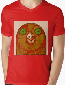 Pigeon Mens V-Neck T-Shirt