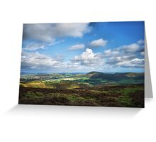 A View Of Shropshire Greeting Card
