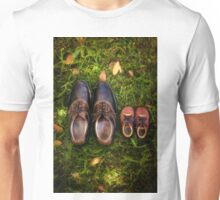 father and child Unisex T-Shirt