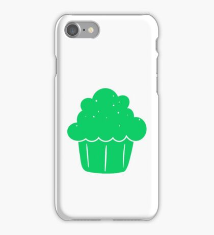 Cupcake (Green) iPhone Case/Skin