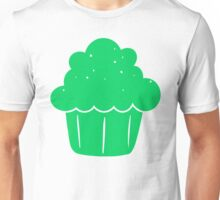 Cupcake (Green) Unisex T-Shirt