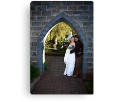 Arch of love Canvas Print