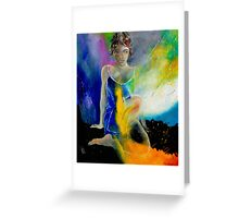 young girl 671008 Greeting Card