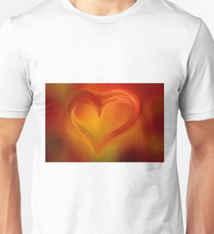 Flaming Heart  Unisex T-Shirt