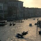 The Grand Canal, Venice by azzatravers