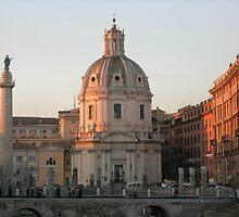 TROJAN'S COLUMN, ROME by azzatravers