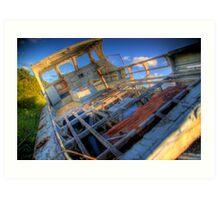 Ship Wreck Art Print