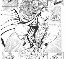 Comic panel1 - Cloak by russellashley