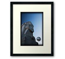 Stone & Sky Framed Print