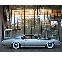 Riviera Visual- Seamist Princess- 1966 Buick Riviera Photographic Print