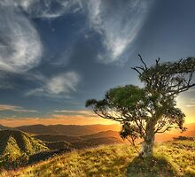 Summer sunset, Mount Speculation by Kevin McGennan