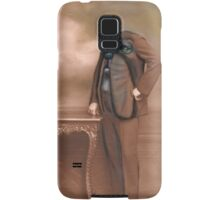 Repainted Vintage Photo in Oils - Dog Face Samsung Galaxy Case/Skin