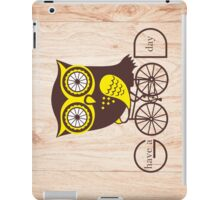 Owl. Have a good day. iPad Case/Skin
