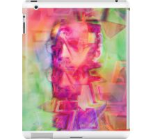 Trippy Psychedelic Abstract Guy iPad Case/Skin
