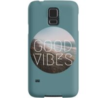Good Vibes Print Samsung Galaxy Case/Skin