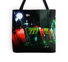 The man who waves the flashing stick; Ginza, Tokyo Tote Bag