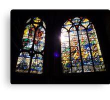 église St Gervais St Protais. Paris IV Canvas Print