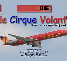 Branded Card off the rack for le Cirque Volant© by Paul Lindenberg