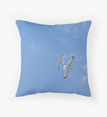 Song in the sky Throw Pillow
