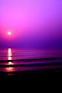 purple sunset by juliweeeeee