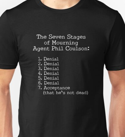 Mourning Agent Coulson Unisex T-Shirt